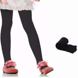 collant fille fillette opaque 3-4 ans noir